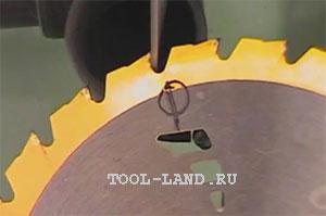 Заточка дисковых пил с твердосплавными напайками