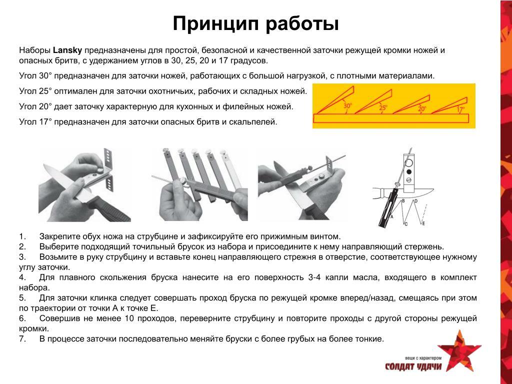 Угол заточки ножей: как правильно заточить кухонный или охотничий нож