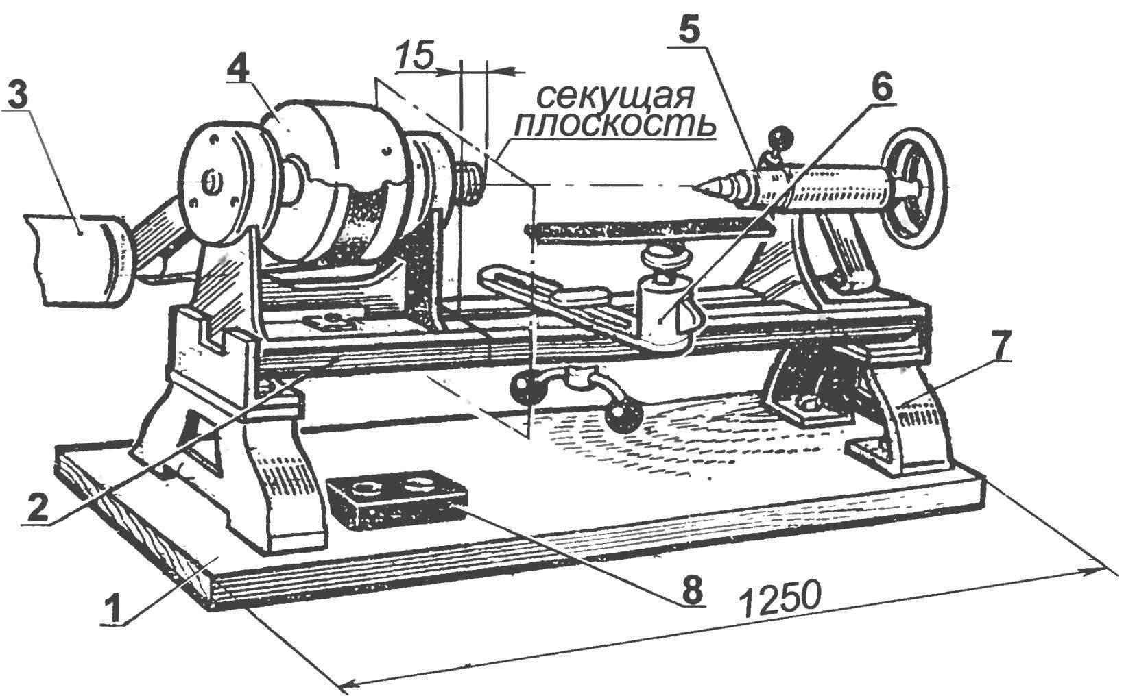 Токарный станок по дереву своими руками: как его сделать самостоятельно в домашних условиях, чертежи с размерами, фото, видео