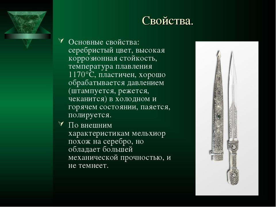 Состав мельхиора. сферы применения :: syl.ru