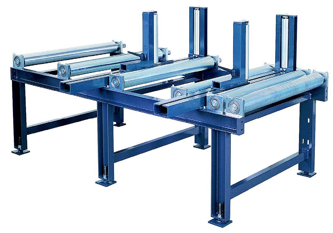 Рольганги (роликовые конвейеры) производство, продажа, обслуживание