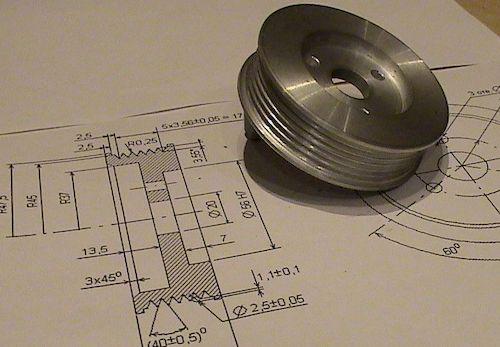 Шкив из алюминия своими руками - металлы и металлообработка