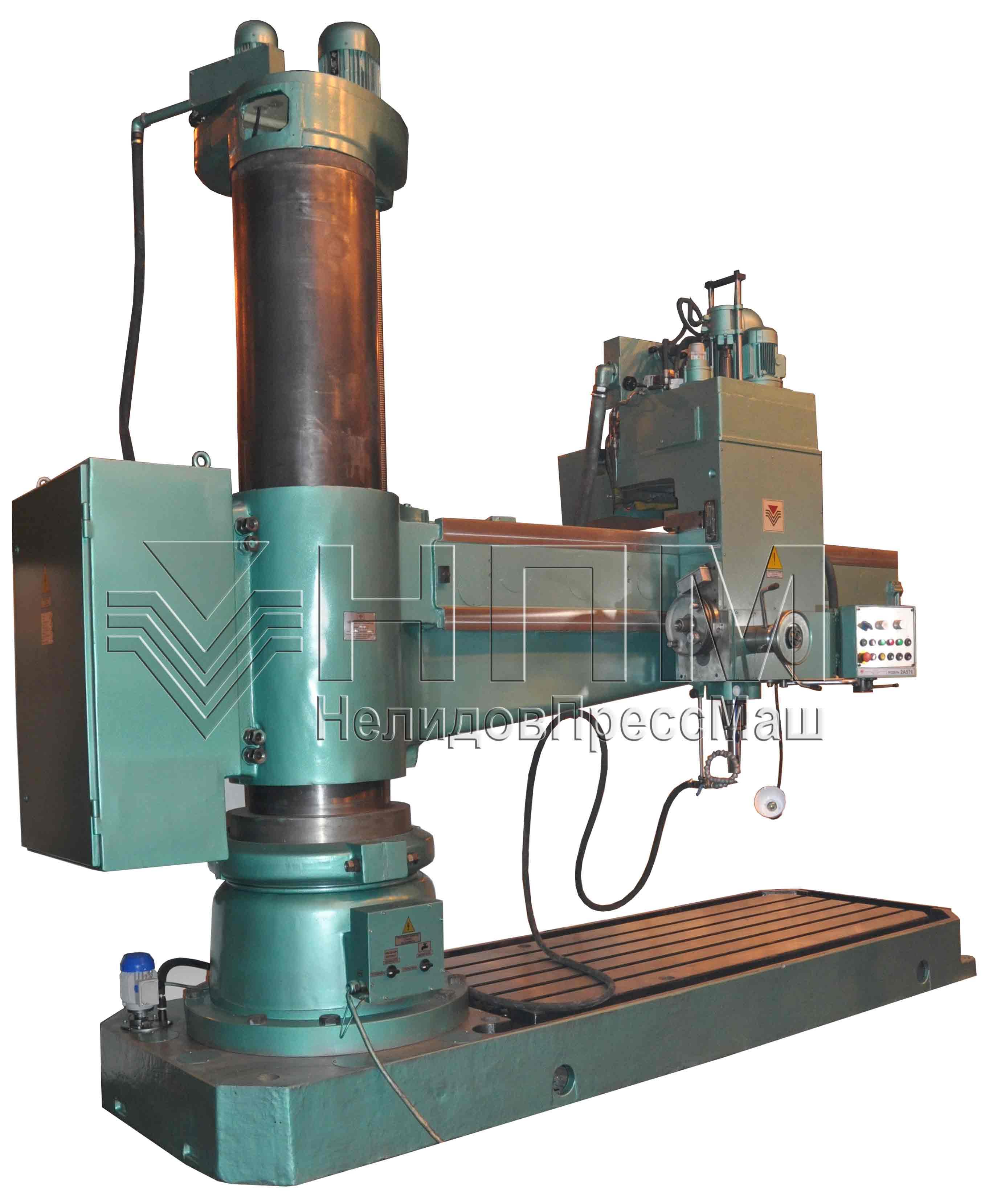 Радиально сверлильный станок: сфера применения, устройство и принцип работы