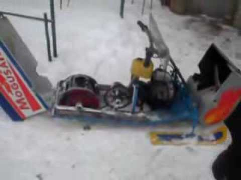 Самодельный снегоход из бензопилы. чертежи, схемы. рекомендации по эксплуатации