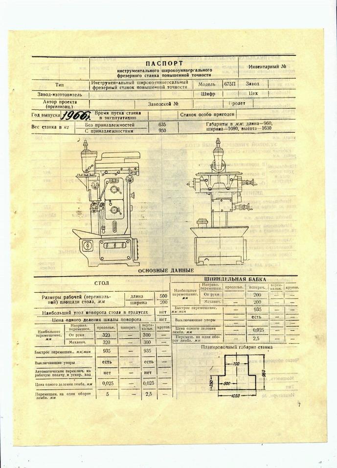 Обзор фрезерного станка 675: характеристики, конструкция