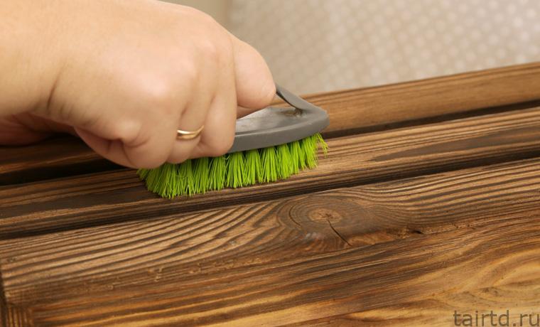 Браширование древесины своими руками — поэтапное руководство - строительство и ремонт