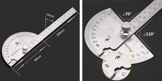 Как пользоваться транспортиром. правильное использование транспортира. статья о том как правильно использовать транспортир для измерения углов.