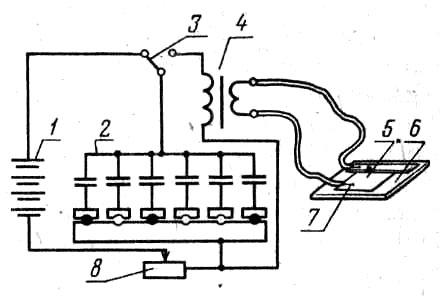 Схема и описание конденсаторной сварки
