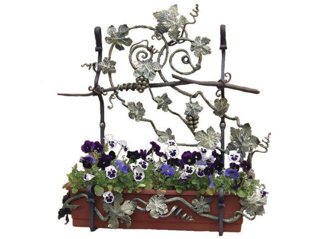 Кованые цветы (55 фото): настенные, напольные, вазоны, кашпо - токарь