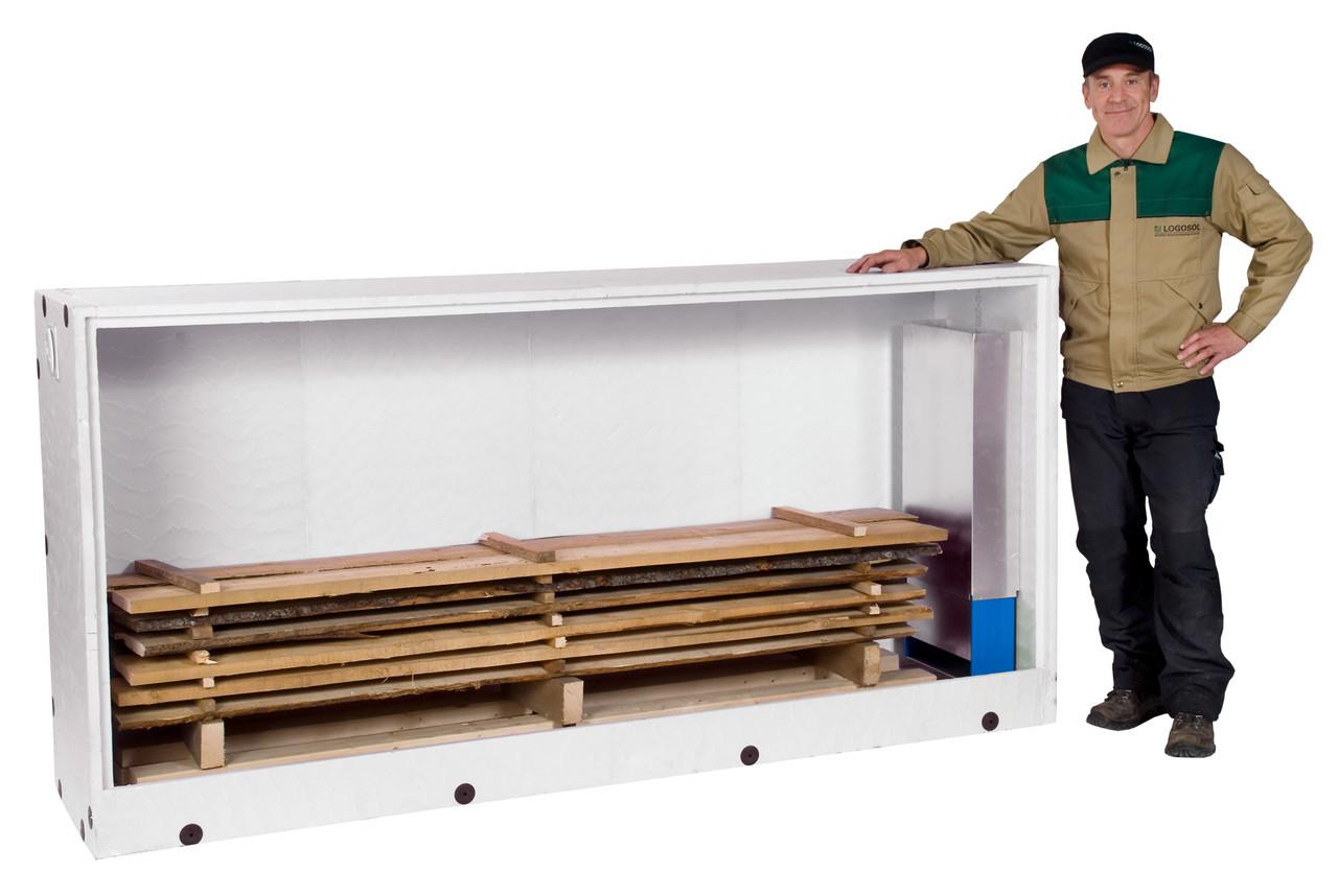 Сушильная камера для пиломатериалов и древесены своими руками