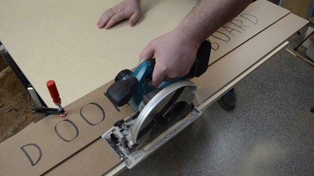 Направляющая шина для циркулярной пилы своими руками - подробная инструкция -2021- википедия - instrument-wiki.ru
