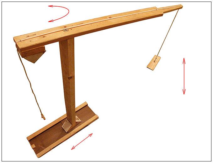 Как сделать подъемный кран своими руками для дачи - токарь