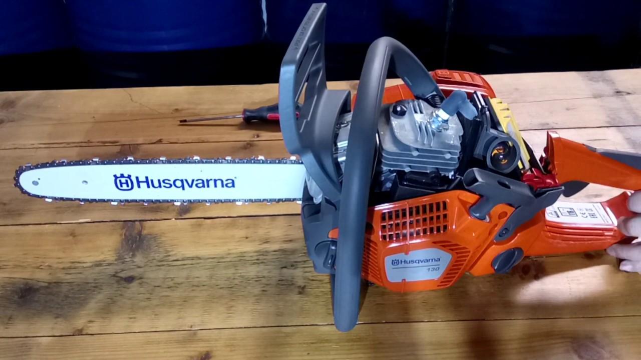 Бензопилы husqvarna 135 — устройство, обкатка, характеристики