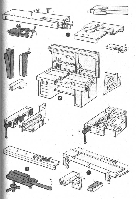 Верстак складной своими руками 500 фото, чертежи, инструкции