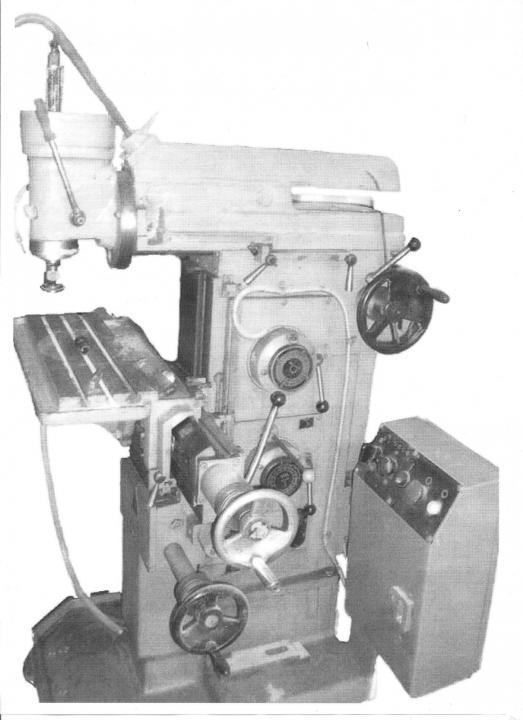 Широкоуниверсальный станок 675п – для выполнения любых фрезерных операций