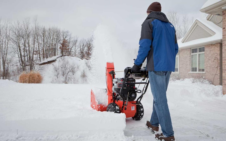Как работает снегоуборочная машина?
