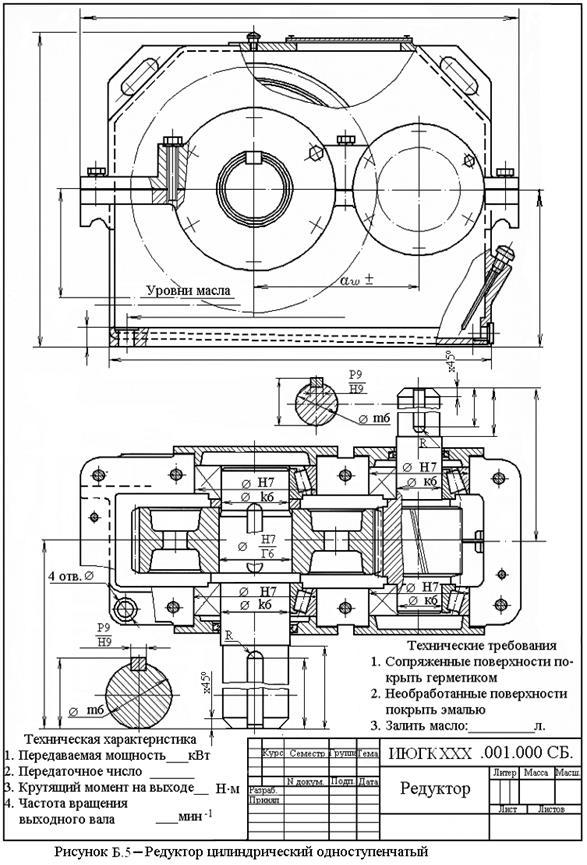 Цилиндрический редуктор: обзор разновидностей и принципа работы