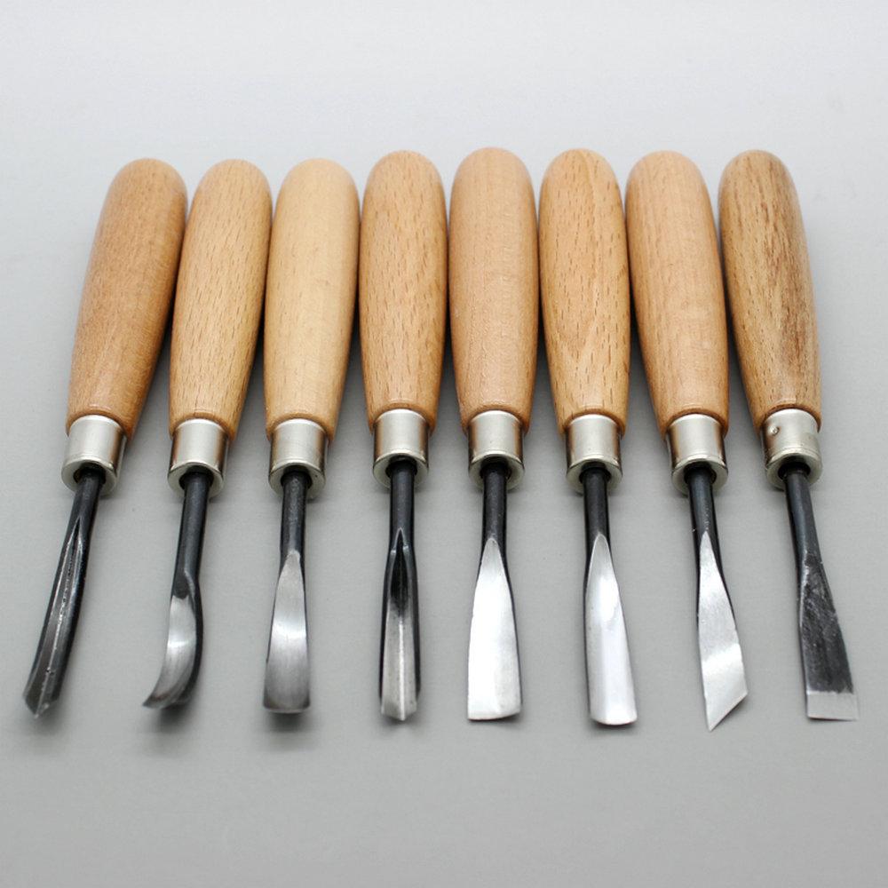 Ножи для резьбы по дереву: что входит в набор, описание косяка, разметочного, богородского, топорика, штихеля