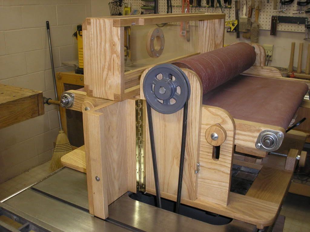 Как изготовить универсальный шлифовальный станок по дереву
