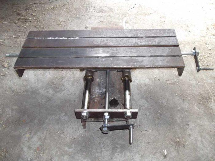 Координатный стол для фрезерного станка своими руками
