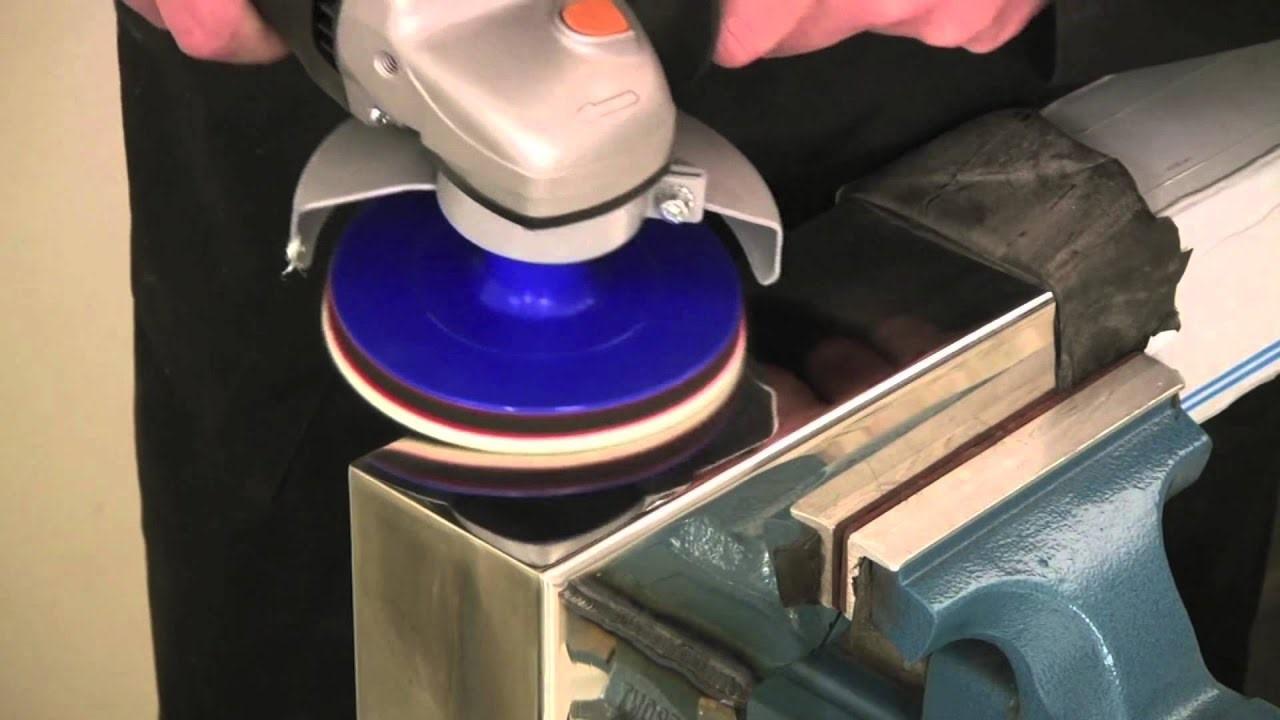 Как шлифовать и полировать металл