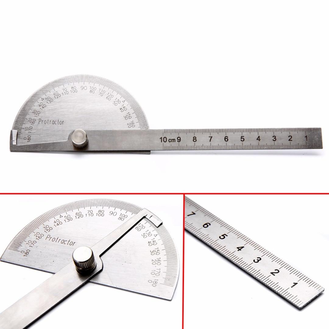 Как пользоваться универсальным угломером | как измерять углы