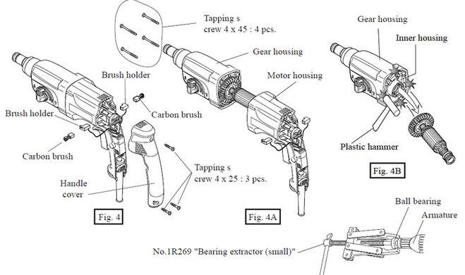 Ремонт перфоратора своими руками: возможные причины поломки, способы устранения, пошаговый алгоритм ремонта
