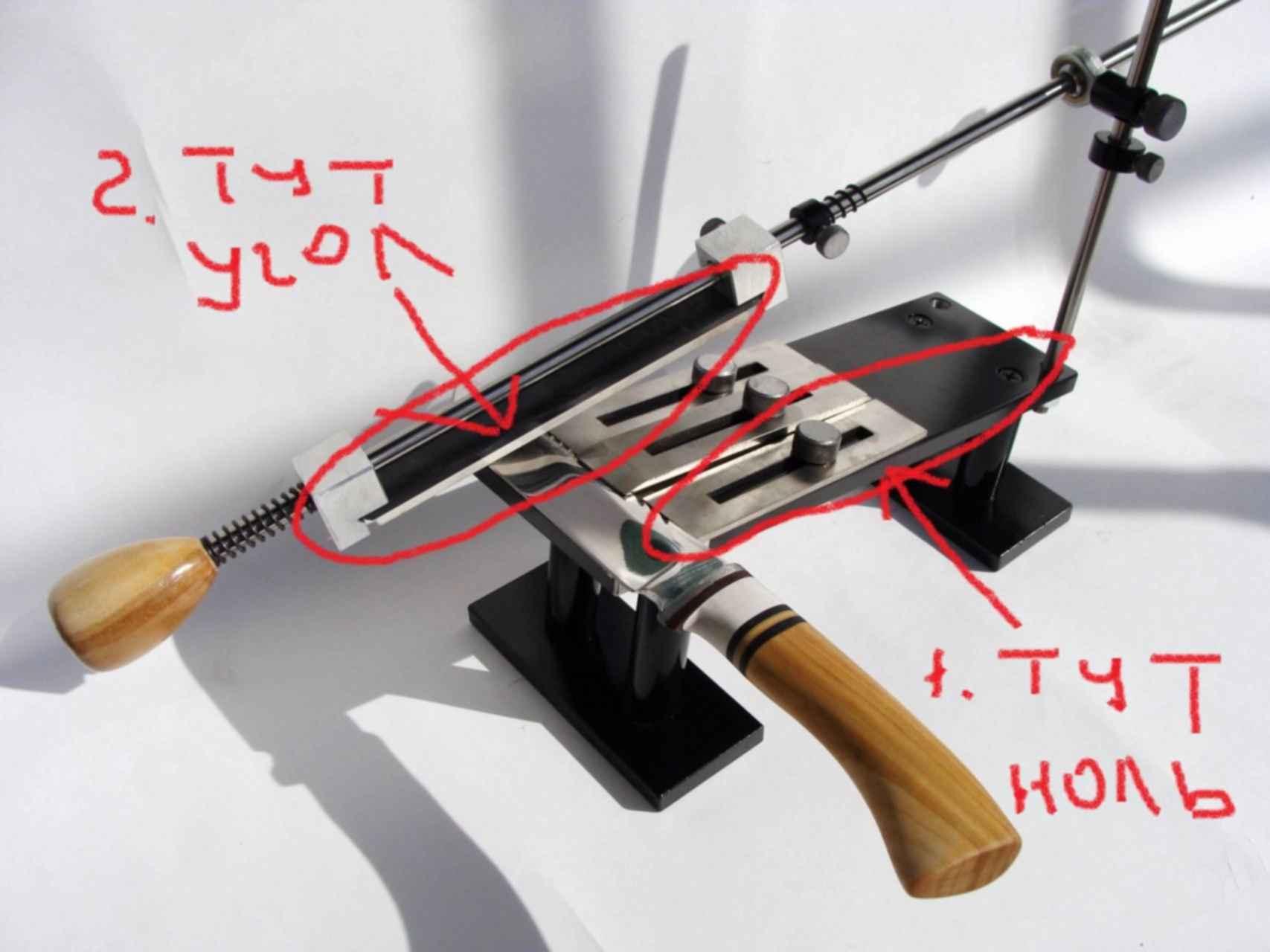 Станки и устройства для заточки ножей — разъясняем развернуто