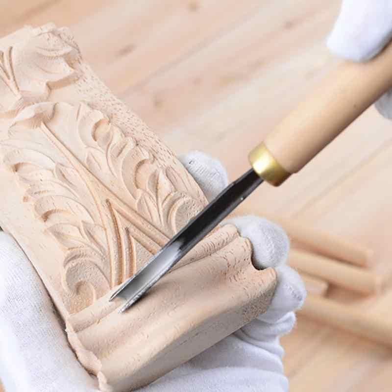 Инструменты для резьбы по дереву: нож-косяк, богородский нож, стамески, резаки для художественных работ