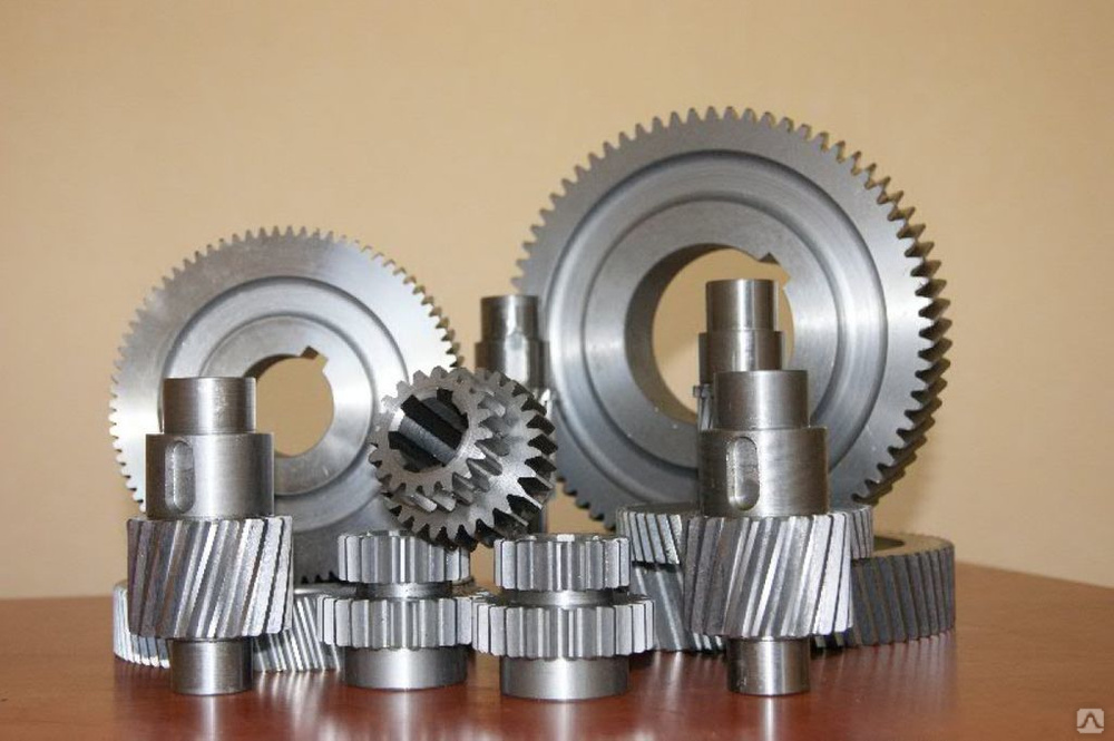 Изготовление шестерен, зубчатых колес, червячного вала и другие зуборезные работы