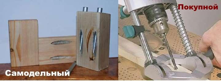 Сверление отверстий в металле и дереве