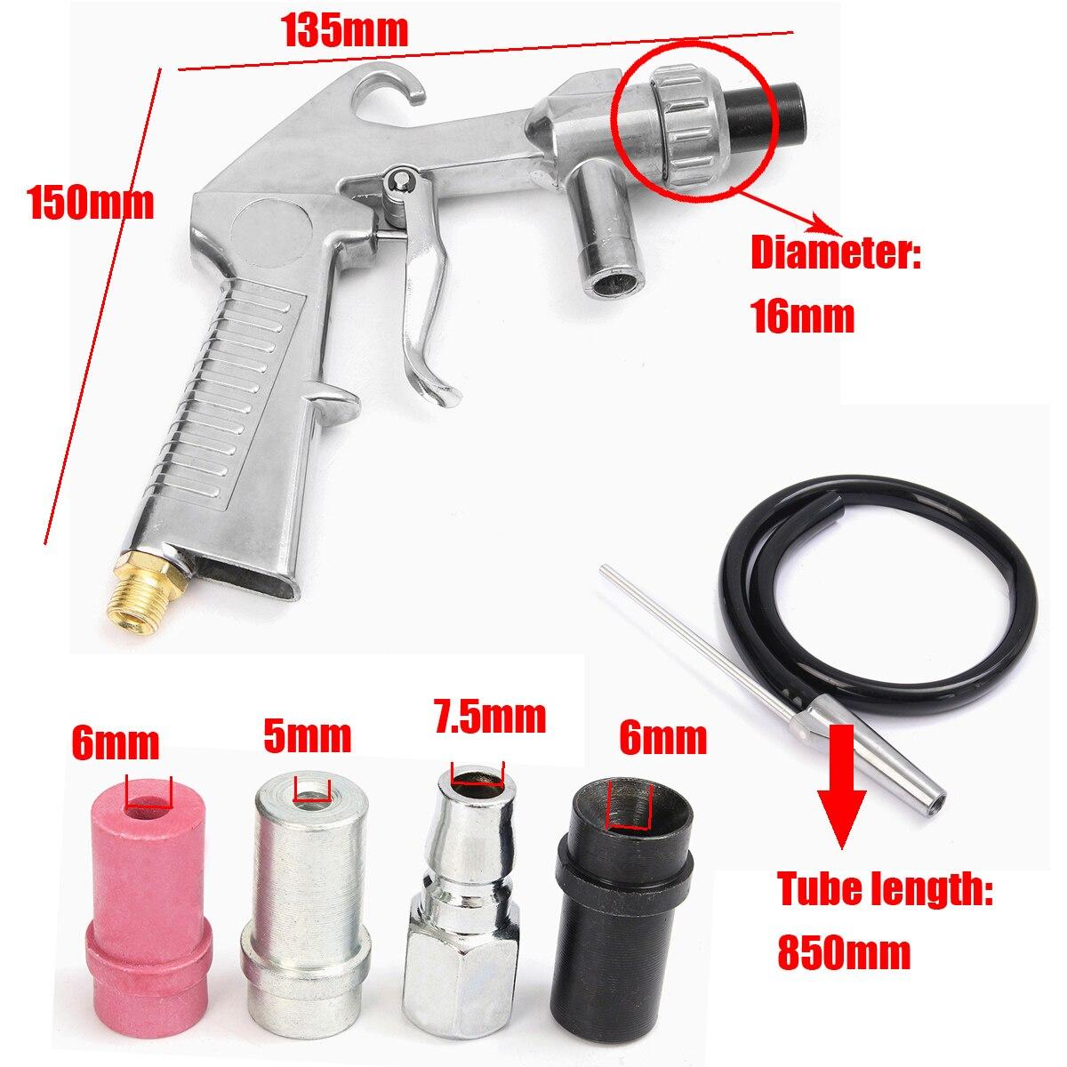 Пескоструйный пистолет пневматический, видео