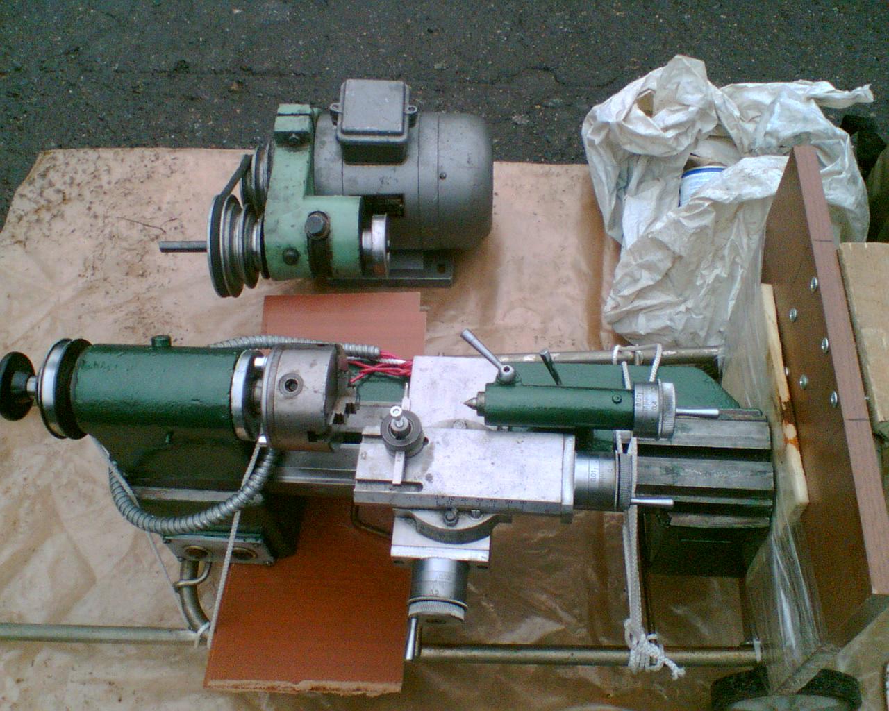 Технические характеристики настольного токарного станка 1д601