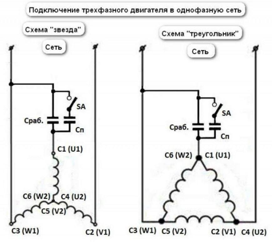 Конденсатор для электродвигателя: как выбрать и пользоваться, расчет емкости для пускового и рабочего, подключение и эксплуатация
