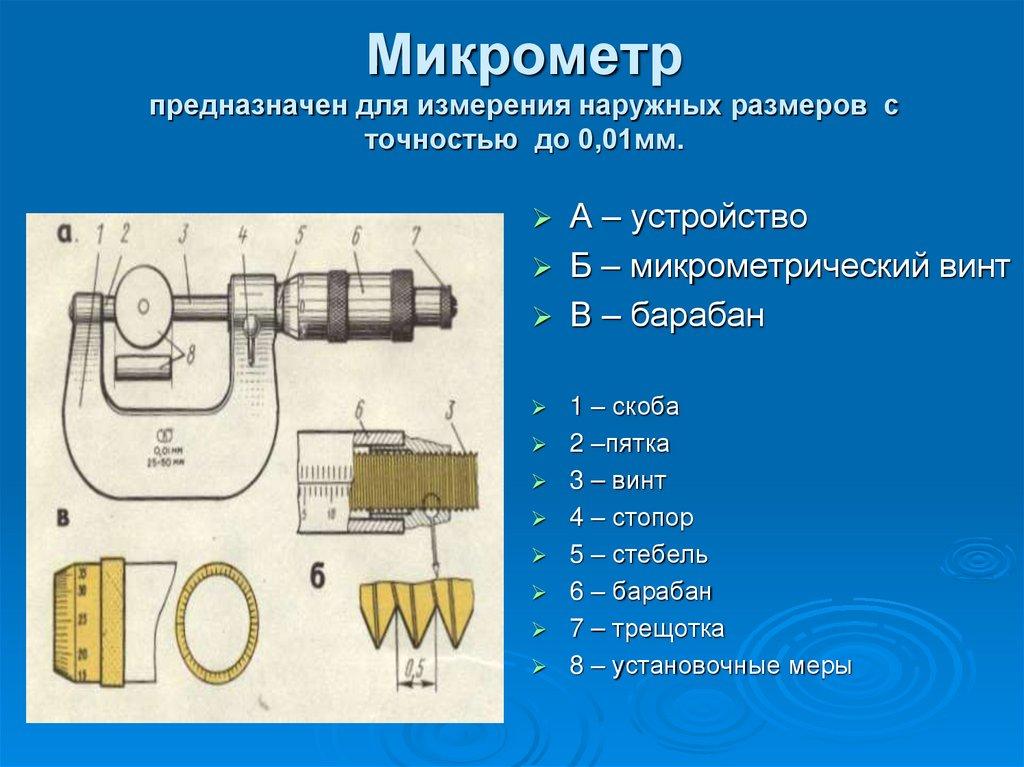 Контрольно-измерительные инструменты: основные виды мерительных приборов в машиностроении