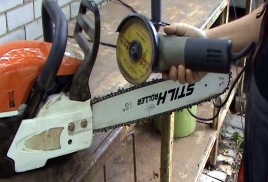 Как правильно заточить цепь для бензопилы - тонкости и правила заточки напильником