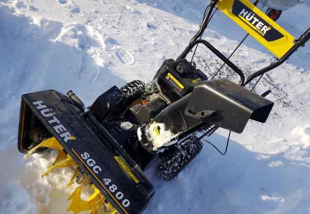 Снегоуборщик huter sgc 4800b отзывы