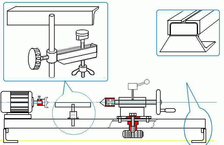 Как сделать токарный станок по дереву своими руками: самодельная передняя бабка, фрезерное приспособление