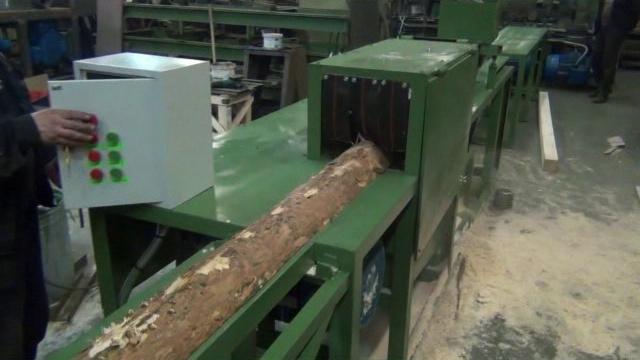 Технологический процесс и станок для переработки горбыля