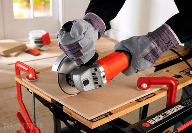 Резка керамогранита: чем и как резать в домашних условиях