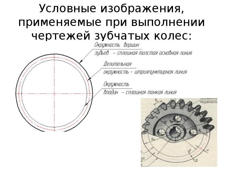 Зубчатое колесо. основные параметры. чертеж :: syl.ru