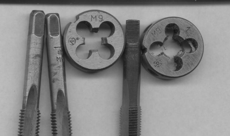Метчики для нарезания резьбы: таблица размеров и стандарты резьбовых соединений