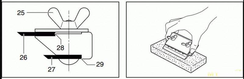 Заточка ножей электрорубанка в домашних условиях – как правильно отрегулировать, заменить или заточить ножи на электрорубанке – сервис-инструмент