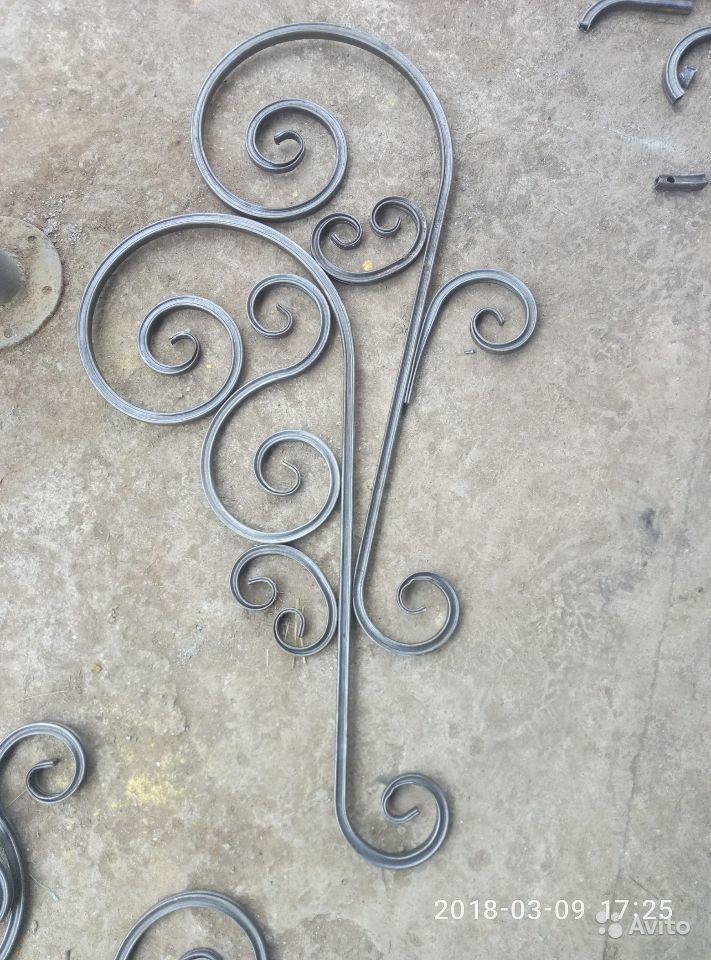 Элементы художественной холодной ковки и детали орнамента