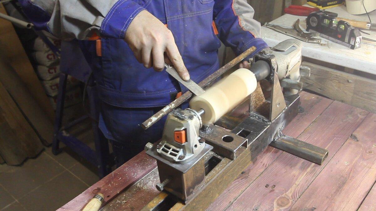 Изготовление токарного станка по дереву своими руками в домашних условиях