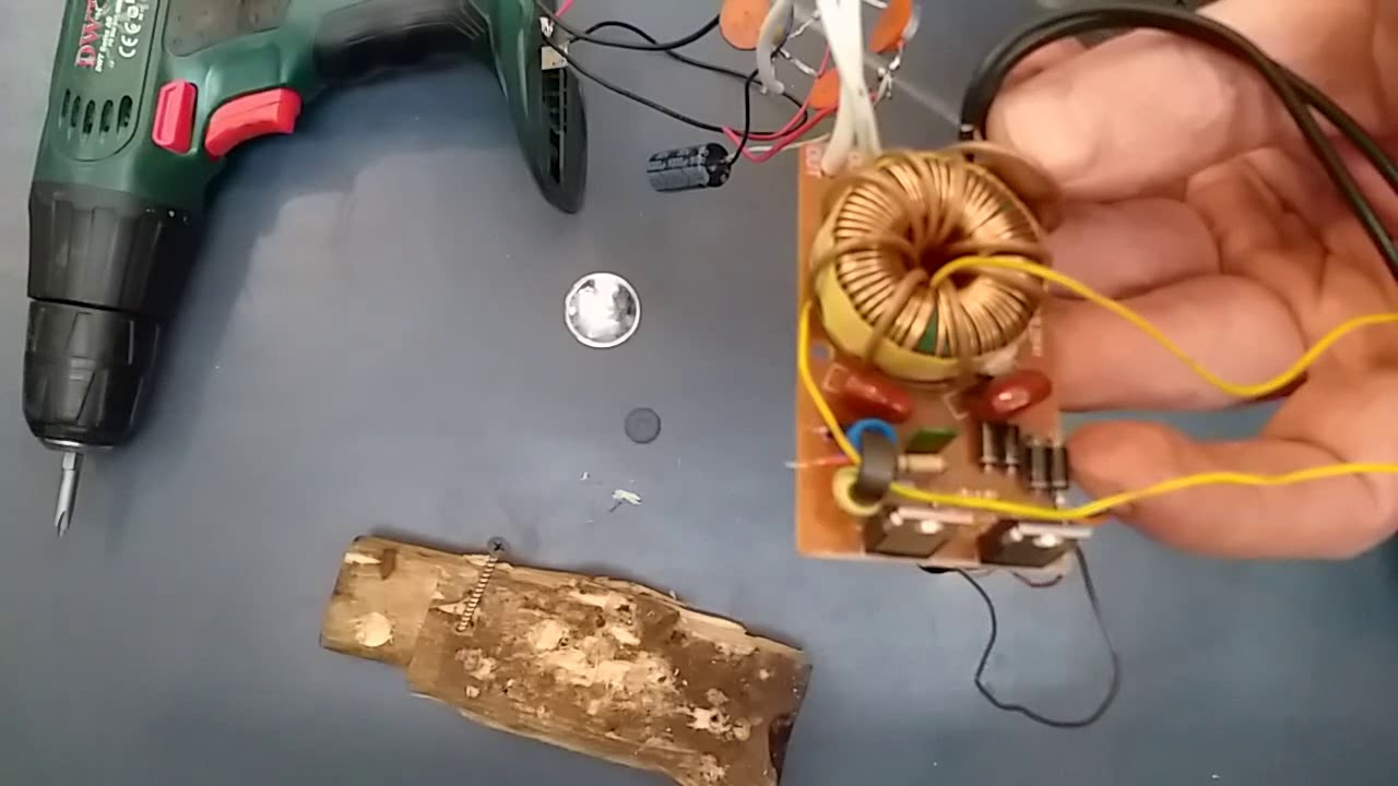 Как переделать аккумуляторный шуруповерт