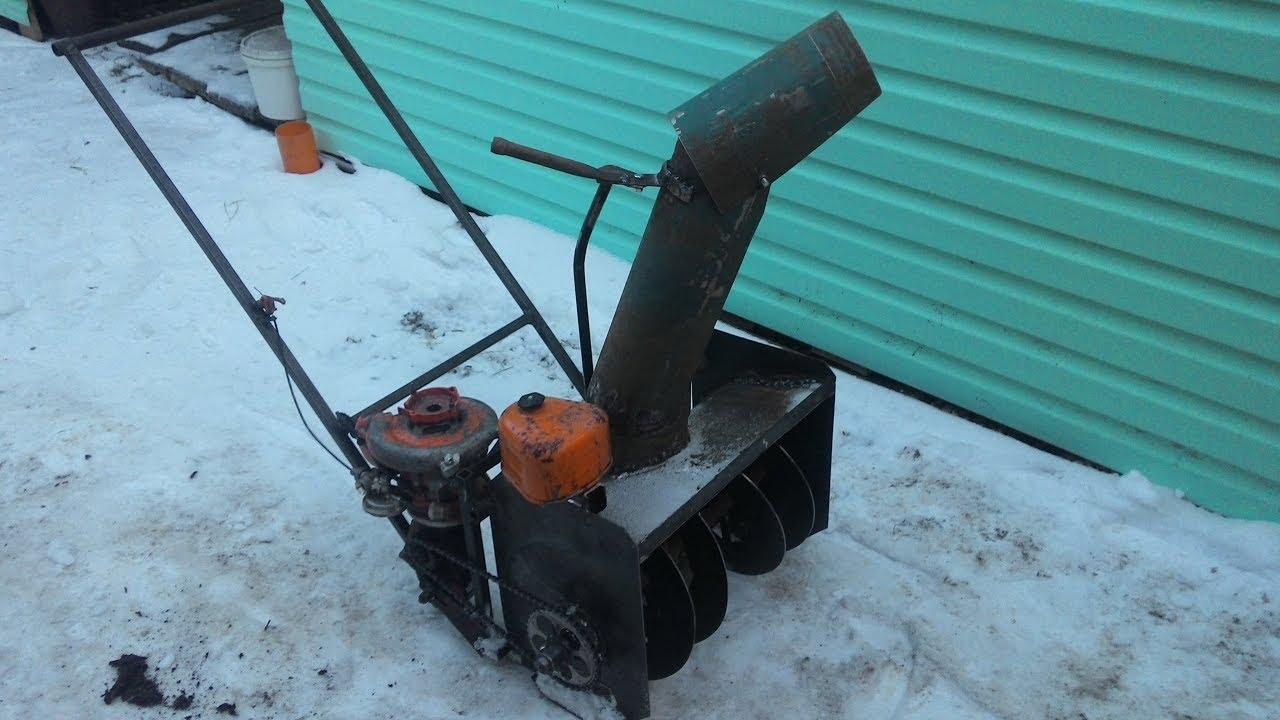 Снегоуборочный мотоблок