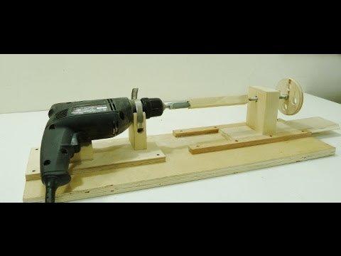 Изготовление токарного станка из дрели самостоятельно – мои инструменты