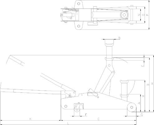 Подкатной домкрат своими руками: чертежи самодельного домкрата для автомобиля. описание изготовления гидравлического домкрата для поднятия машины