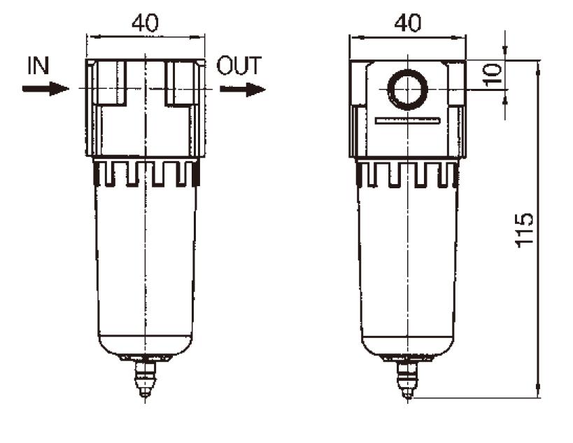 Фильтры, влагоотделители и влагомаслоотделители для компрессора — купить масловлагоотделитель — цены